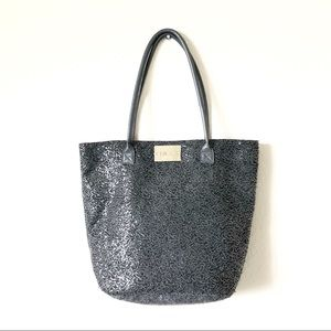 Chico's Charcoal Silver Sequin Holiday Tote!